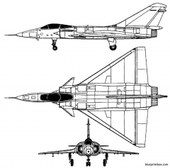 dassault mirage 4000 model airplane plan