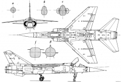 dassault mirage f1 3 model airplane plan