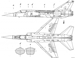 dassault mirage f1 6 model airplane plan