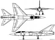 dassault mirage f2 1966 france model airplane plan