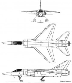 dassault mirage f 1 model airplane plan