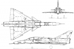 dassault mirage iii 2 model airplane plan