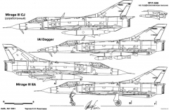 dassault mirage iii 5 model airplane plan
