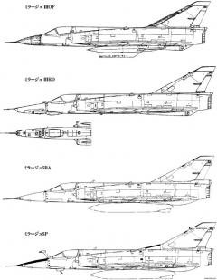 dassault mirage iii 7 model airplane plan