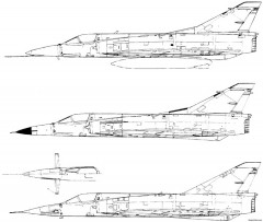 dassault mirage iii 9 model airplane plan