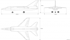 dassault mirage iii f2 model airplane plan