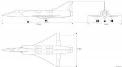 dassault mirage iii v01 model airplane plan