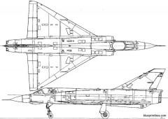 dassault mirage iiie model airplane plan