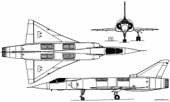 dassault mirage iiiv 1965 france model airplane plan