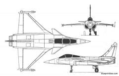 dassault rafale model airplane plan