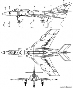 dassault super etendard model airplane plan