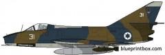 dassault super mystere b2 model airplane plan