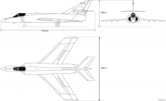 dassault superetendard model airplane plan