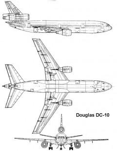 dc10 1 3v model airplane plan