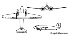 dc 3 dakota model airplane plan