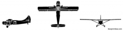 de havilland canada u1 otter model airplane plan