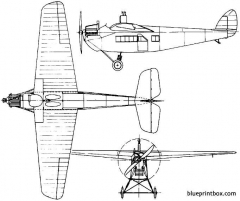 de havilland dh29 doncaster 1921 england model airplane plan