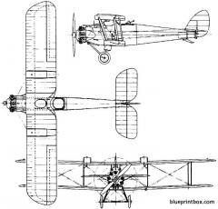 de havilland dh42 dormouse  dh42a dingo 1923 england model airplane plan