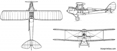 de havilland dh 60 moth model airplane plan