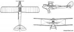 de havilland dh 60 moth model airplane plan