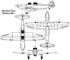 defiant 3v model airplane plan