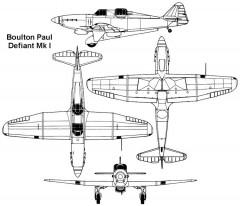defiant 3v model airplane plan