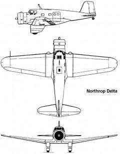 delta 3v model airplane plan