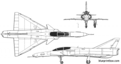 denel cheetah model airplane plan