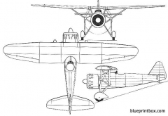 dewoitine d371 d372 02 model airplane plan