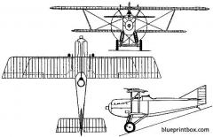 dewoitine d 15 1924 france model airplane plan