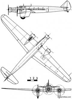 dewoitine d 333 model airplane plan