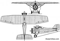dewoitine d 9 1924 france model airplane plan