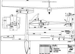 dg300 3v model airplane plan