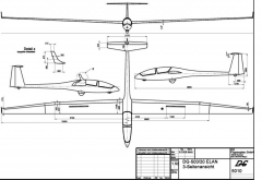 dg500 3v model airplane plan