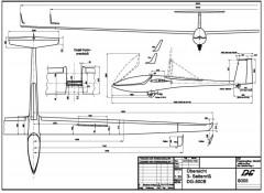 dg800 3v model airplane plan