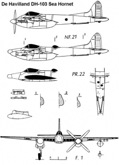 dh103 2 3v model airplane plan