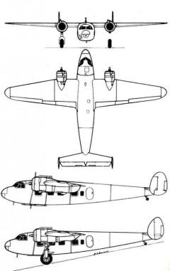 dh95 3v model airplane plan
