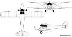 dh 87b hornet moth model airplane plan