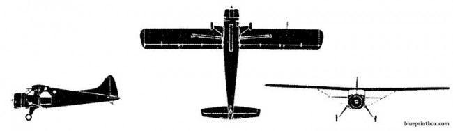 dh beaver 1 model airplane plan