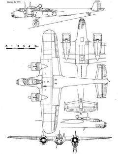 do17 3v model airplane plan