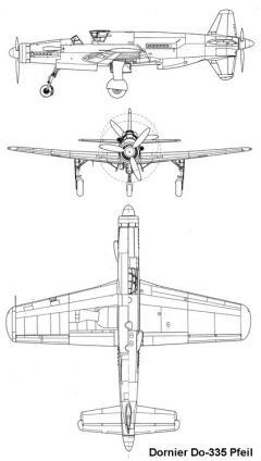 do335 3v model airplane plan