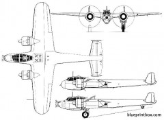 do 17z 7 17z 10 model airplane plan