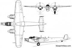 do 217n 2 model airplane plan
