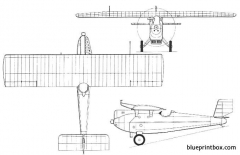 do h falke model airplane plan