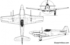 doflug d 3802a model airplane plan