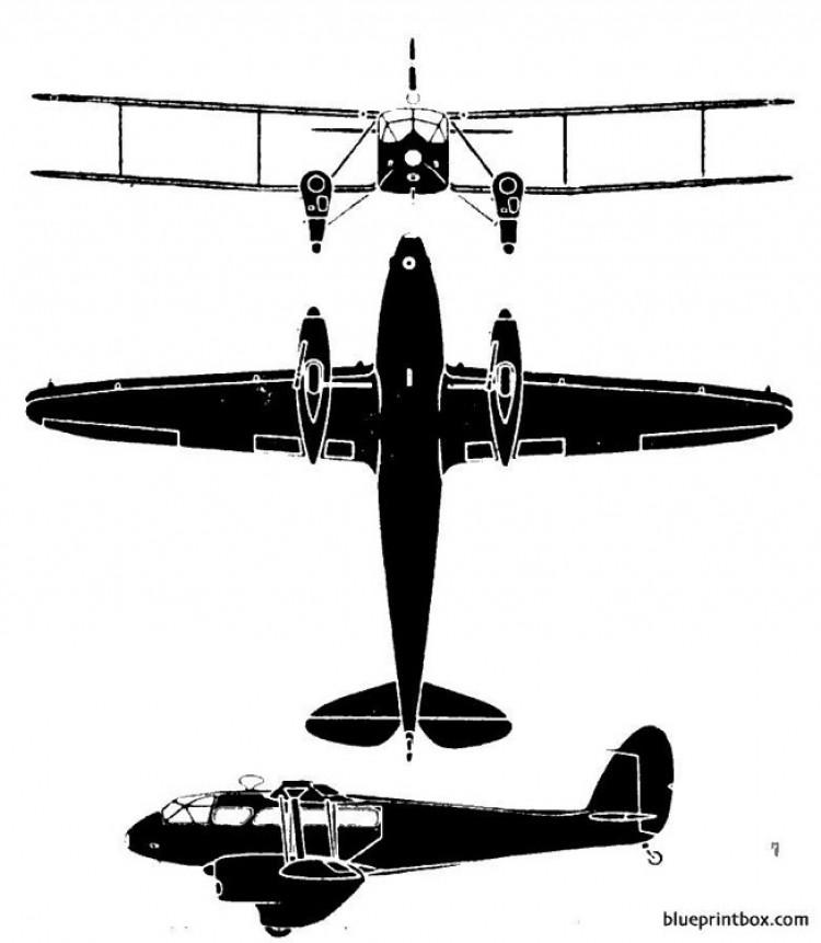 dominie model airplane plan