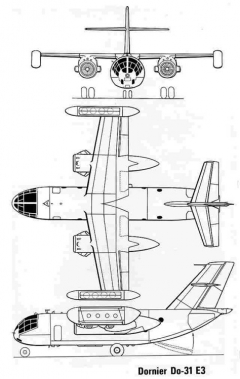 dornier31 3v model airplane plan