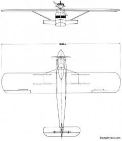 dornier delphin ii 01 model airplane plan