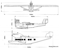 dornier delphin ii 02 model airplane plan