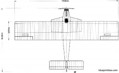 dornier delphin ii 04 model airplane plan